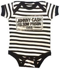 Johnny Cash Folsom Prison Baby Onesie
