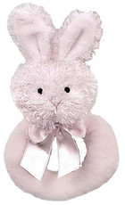 Lil Bunny Ring Rattle from Bearington Baby