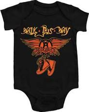 Aerosmith Walk This Way Onesie