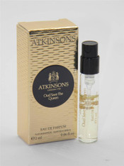 Atkinsons Oud Save The Queen EDP Vial Sample 0.06 fl oz 2ml New In Box