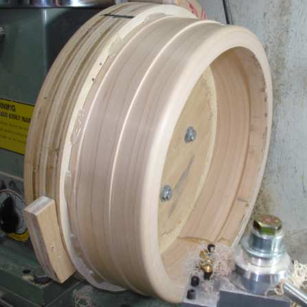 Rim fabricated at Pure Timber