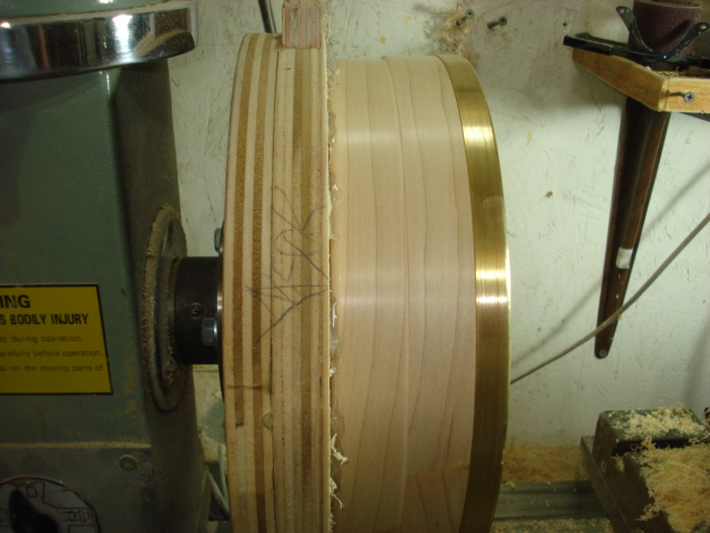 Hickler fitting a tone ring