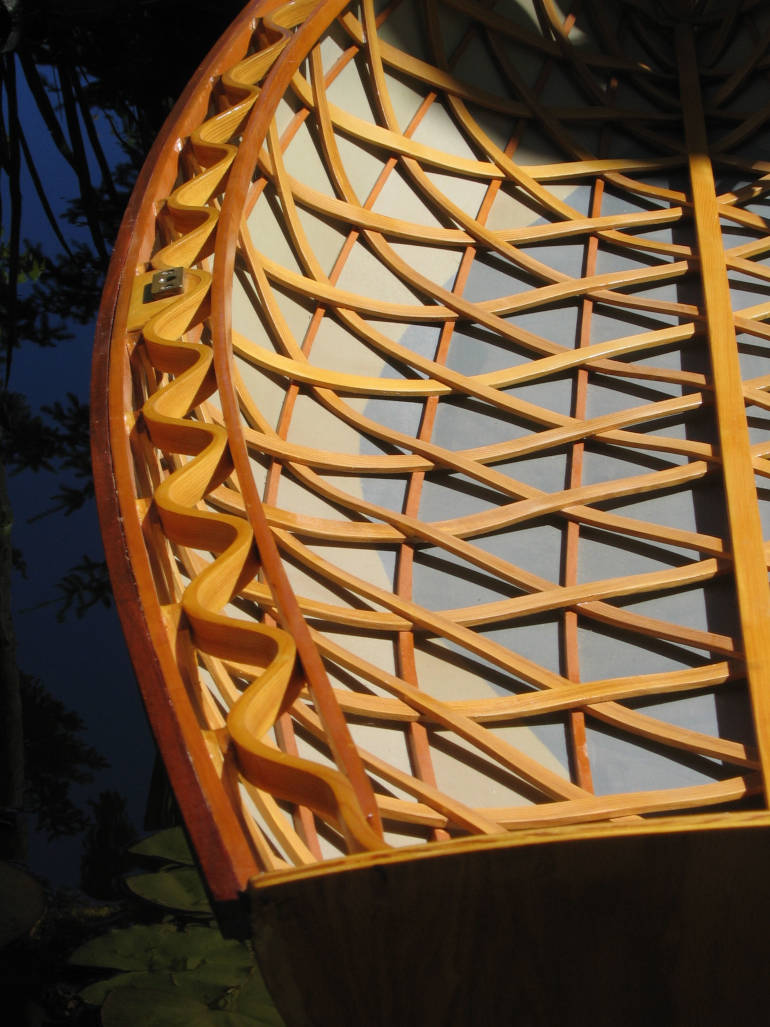 Diamond basket weave for ribs by Pure Timber