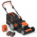 "Yard Force 120vRX Lithium-Ion 22"" Self-Propelled 3-in-1 Mower with Torque-Sense Control"
