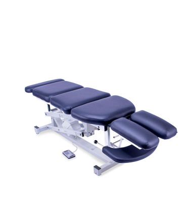 Pro-Lift: Apollo 5 Chiropractic table is comfortable for the patient and affordable for the Practitioner.
