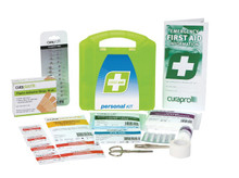 Personal First Aid Kit – Plastic Portable