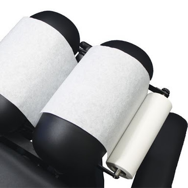 Cello chiropractic paper rolls- elegant quality for practioners and their patients.