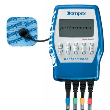 The Compex Performance Muscle Stimulator is recommended for the fitness enthusiast and/or the athlete which engages in frequent competition.