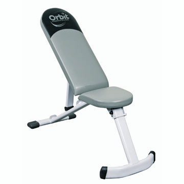Orbit Flat / Incline Bench is the perfect home gym fitness equipment for building and toning triceps, chest, back, shoulders and more