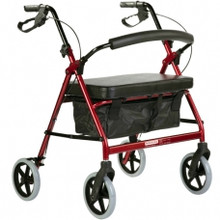 The BetterLiving Maxi Rollator is manufactured from aluminium to be specially lightweight and strong.