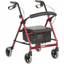 The BetterLiving Petite Rollator is perfect blend of style, comfort and affordability for the smaller user.