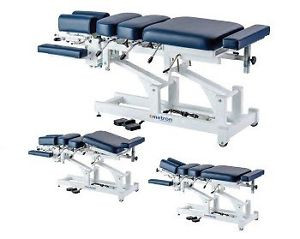 Superior Quality used by Professionals World Wide for optimal treatment. The VERTI S Series Drop table   features four manual drops: Cervical, Thoracic, Lumbar and Pelvic.