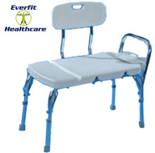 Bath transfer benches allow for easy and safe transferring to and from the bath. Aluminium frame adjusts in height. Durable plastic seat.
