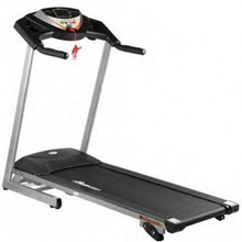 The  Columbia Treadmill top speed is 16km/hr giving you a great range of walking, jogging and running options. It has 9 great workout programs and manual incline.