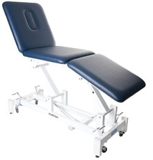Elite 3 practitioner treatment table is designed and constructed using modern engineering techniques and manufactured from the finest materials to the highest standards