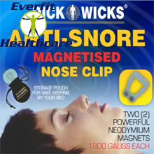 ANTI-SNORE MAGNETISED NOSE CLIP