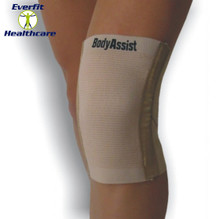 Cross Cut Elastic Knee Brace with Rods