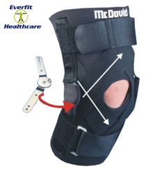 DELUXE THERMAL HINGED KNEE SUPPORT