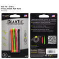Gear Tie Reusable Rubber Twist Tie 4 pack