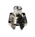 Armstrong Nickel Finish Mortise Lock For Roller Shutter-22mm