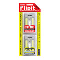 Nebo 6523 Flipit Light Wall Switch Wireless Battery C.O.B. LED 2 Pack