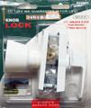 Tuff Stuff Knob Keyed Lock Latch Storm Screen Door Handle White 912WH