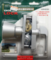 Tuff Stuff Knob Keyed Lock Latch Storm Screen Door Handle Aluminum 912AL