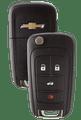 Strattec 5912543 2010 Chevrolet Camaro & Equinox 4 Button Remote/Flip Key