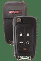 Strattec 5912548 2010 GMC Terrain 5 Button Remote/Flip Key