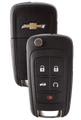 Strattec 5912545 2010-2011 Chevrolet Camaro 5 Button Remote/Flip Key