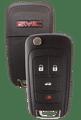 Strattec 5912547 2010-2011 GMC Terrain 4 Button Remote/Flip Key