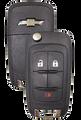 Strattec 5913598 GM 3 Button Remote Flip Key