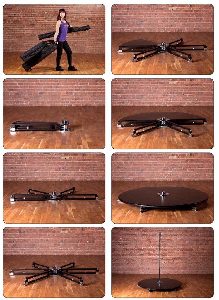 WTB ExDemo X-StAGE Pole Set: Static & Spin