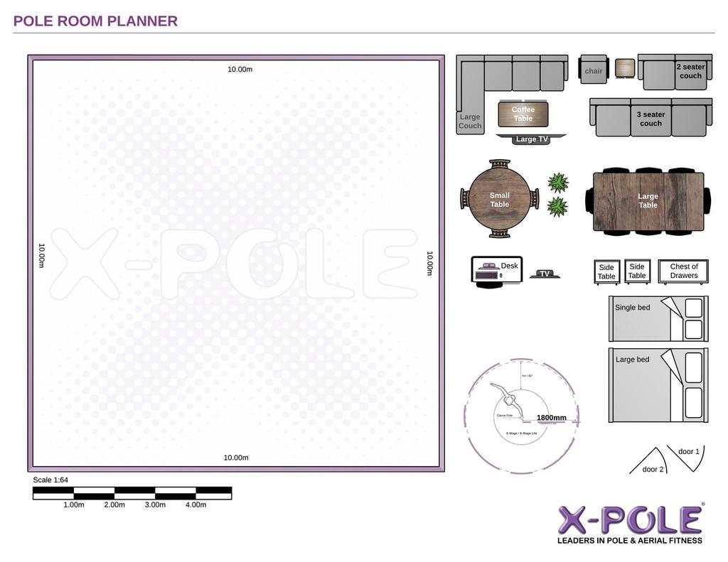 X-POLE Room Planner