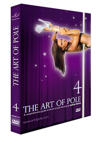 'Instructional - ART of POLE Volume 4 by Jamilla - DVD
