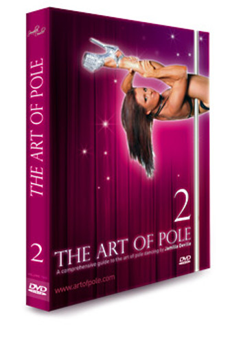 'Instructional - ART of POLE Volume 2 by Jamilla - DVD