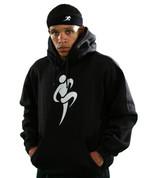 Big Logo Hoodie - Black