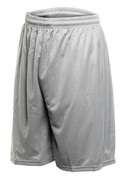 Power Mesh Shorts - Silver