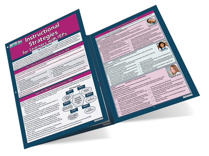New Laminated Reference Guides for Educators