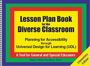 Lesson Plan Book for Diverse Classroom