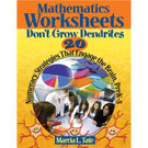 Math Worksheets Don't Grow Dendrites: