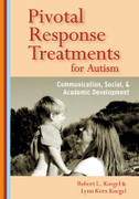 Pivotal Response Treatments for Autism: