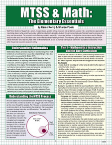 MTSS & Math: The Elementary Essentials