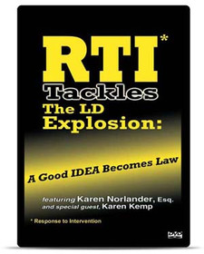 RTI Tackles the LD Explosion: A Good IDEA Becomes Law