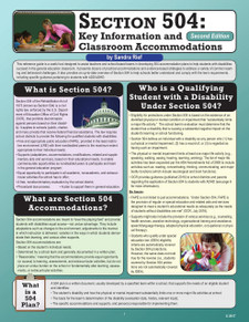 Section 504: Classroom Accommodations