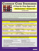 Common Core Standards: A Step-by-Step Approach - Mathematics, Grades K-5