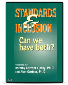 Standards and Inclusion Can We Have Both?