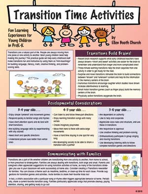 Transition Time Activities