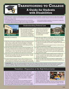 Transitioning to College: A Guide for Students with Disabilities