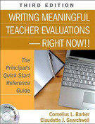 Writing Meaningful Teacher Evaluations-Right Now!!
